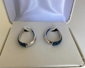 Beautiful stone earrings.  Like new from JC Penney