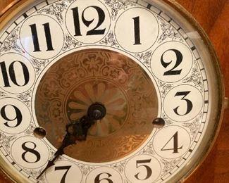 Large Mantle Clock w key