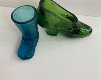 Collectilbe Shoes.  Variety of Porcelain, Glass, Wood, Ceramic and plastic.  Vintage and modern.  Various sizes and shapes!