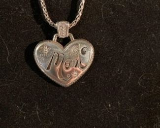 "Brighton charm necklace ""Mom"""