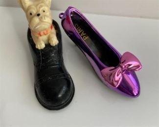 Scottie in a shoe