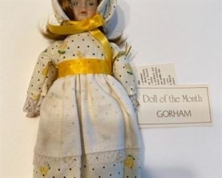 Gorham, Doll of the Month - April