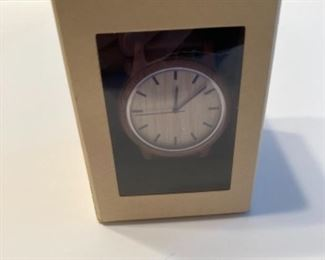 Wood Watch NIB Home Depot
