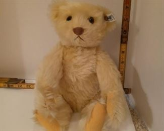Steiff Circus Clown bear.  Limited Edition 1986.  Missing hat and collar.
