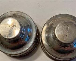 Sterling silver caps
