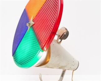 Amazing working Christmas color wheel (for aluminum tree)