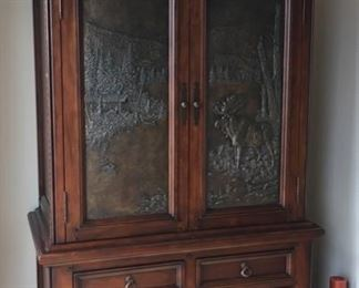 KLAUSSNER DESIGNER DICK IDOL WARDROBE CABINET. PRISTINE CLEAN CONDITION.