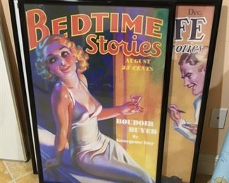 MORE REPRODUCTION FRAMED MOVIE POSTERS
