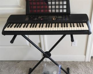 VINTAGE KEYBOARD AND STAND