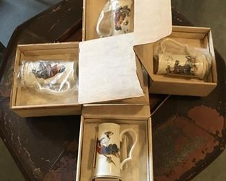 VINTAGE NEW STOCK STEINS IN BOX