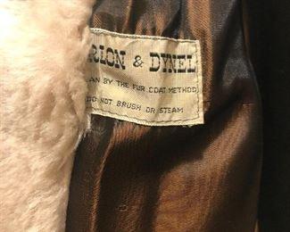 Vintage Orlon and Dynel Faux Fur Jacket