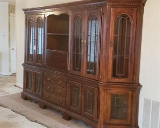 Large china/book cabinet