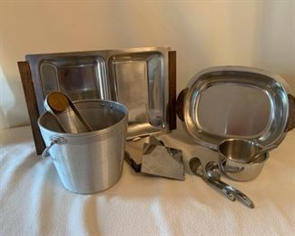 MCM Stainless Hostess Set