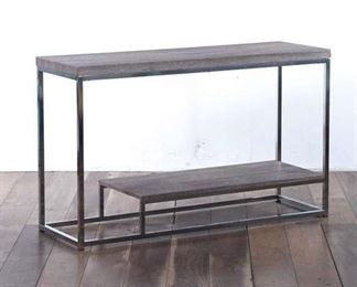Contemporary Two-Tier Console Table