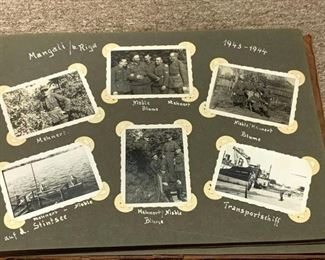 034r3WW2 Germany Photo Album From Russian Campaign