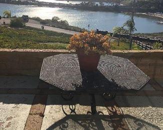 Amazing wrought iron patio furniture