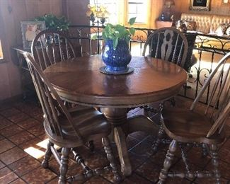 Dining Room table chairs.
