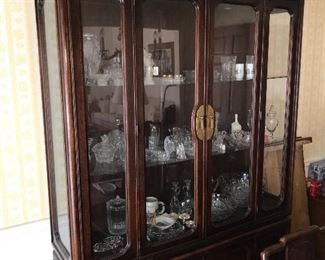 American of Martinsville Asian Inspired China Cabinet