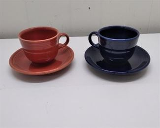 Fiesta coffee cup and saucer