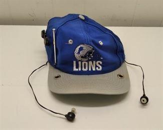 Lions radio hat