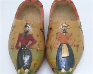 Wooden children's shoes