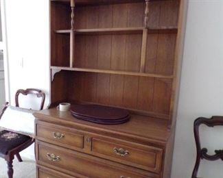 bookcase/curio cabinet