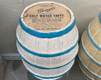 Old Shivers Salt Water Taffy Container