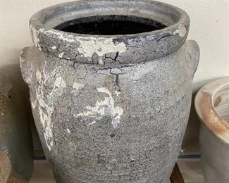 Salt Glaze Pottery Churn
