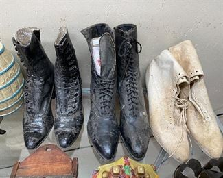 Pairs of Victorian Shoes