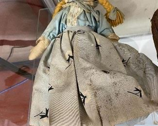 Old Cloth Doll