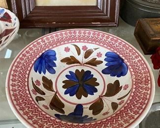 Antique Belgian Porcelain Plate