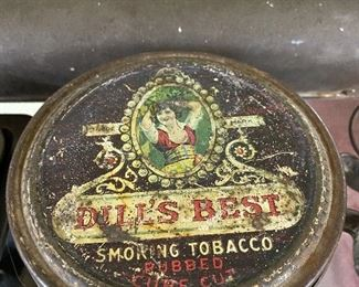 Old Dill's Best Smoking Tobacco Tin