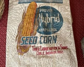 Old Seed Corn Sack