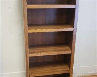 Bookcase with 5 Adjustable Shelves 24 in. x 60 in. x 13 in.