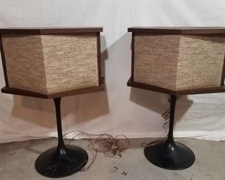 1968 Bose 901 Speakers with Stands