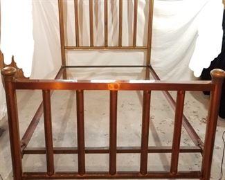 Antique Hickson Brass Bed