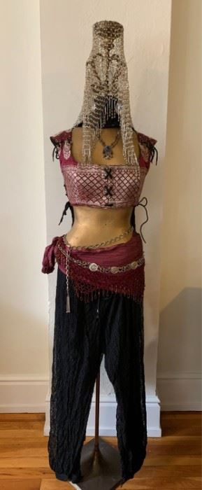 Tribal Gypsy Belly Dance Outfit
