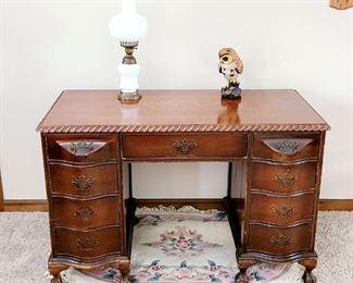 1 of 2 Vintage desk