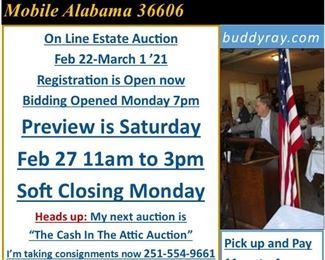 123 Auction Preview Alert