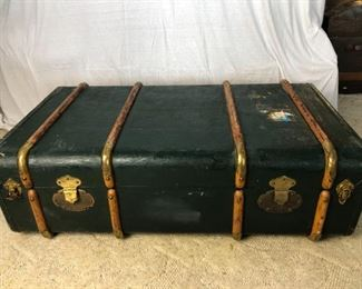 Antique Madler Wardrobe Trunk