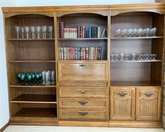 Exquisite Three Piece Cabinet Set