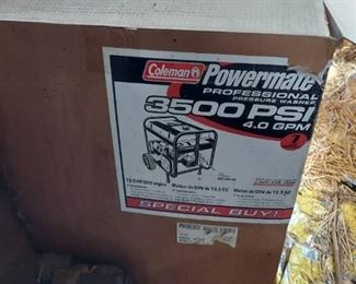 Coleman Powermate 3500 PSI Power Washer