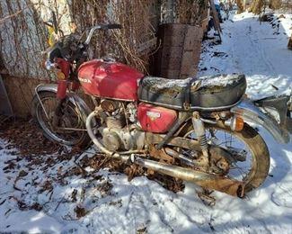 Honda 350 Motorcycle
