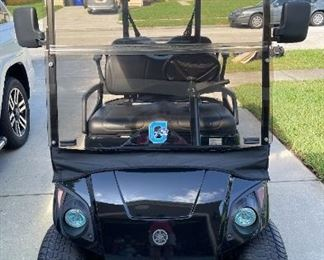Mint condition ( garage kept) 2017 Yamaha all terrain golf cart Our price $6500.00 We take cash, checks ( with proper ID and after check clears)