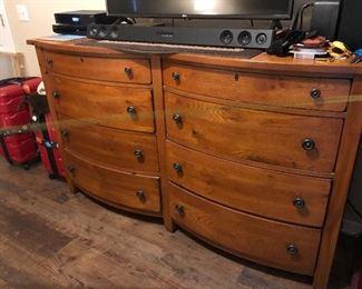 Part of master bedroom dresser set
