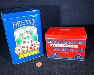vintage tins Nestle