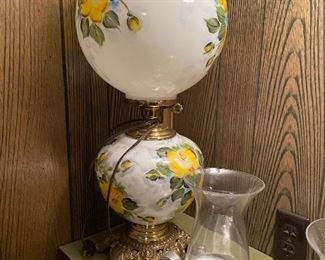 GWTW hurricane lamp