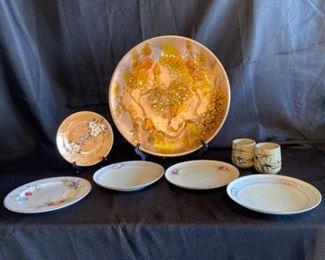 Japanese Plate Decor