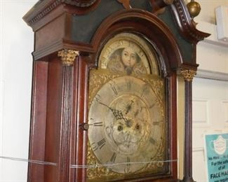 Fearnley English clock ca 1785