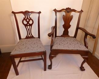 Set 8 dine chairs